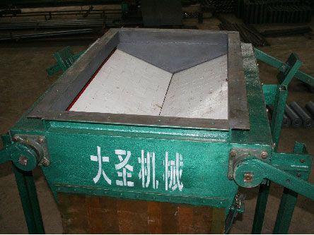 缓冲锁气式导料槽